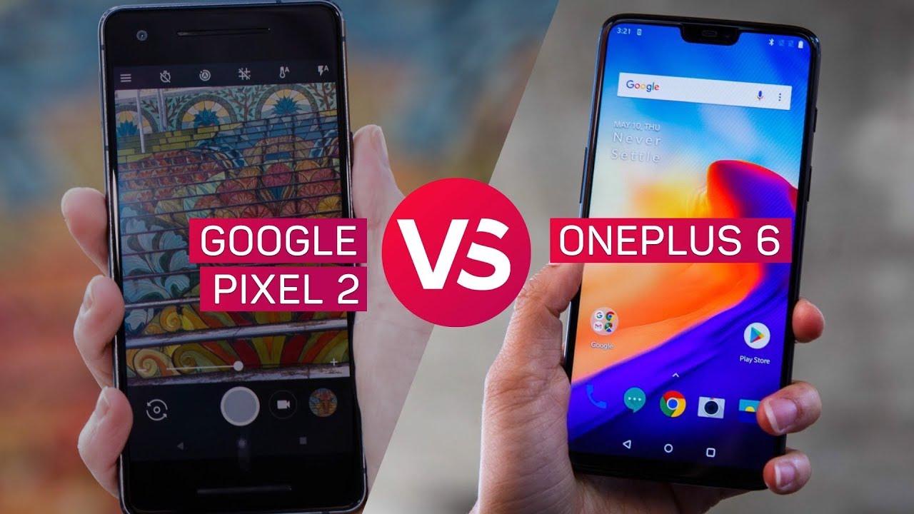 Pixel 2 vs Oneplus